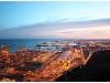 přístav v Barceloně v noci, MAH7
