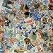 mozaika v Parc Güell, docman