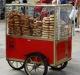Vozík pouličního prodejce Samitu (tureckého chleba), Alaskan Dude